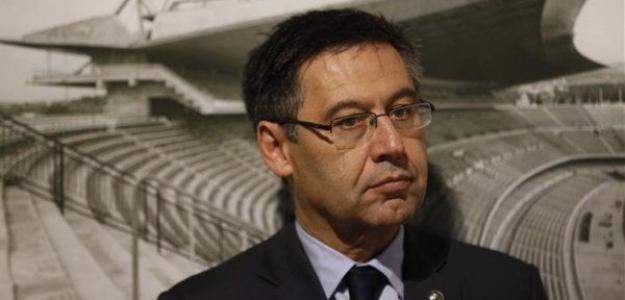 Bartomeu, en un acto oficial / fcbarcelona.es
