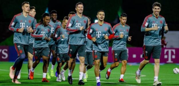 Bayern, durante un entrenamiento / twitter