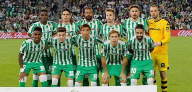 Betis, durante un partido de 2018 / twitter