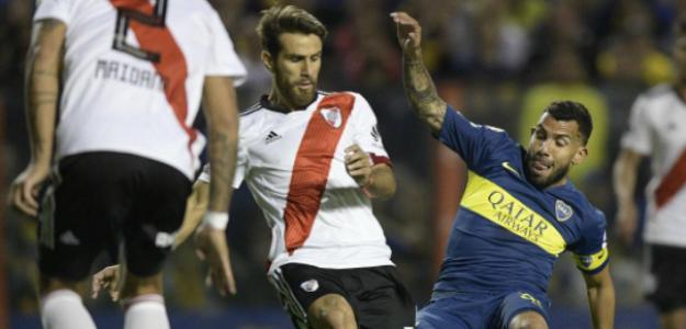"""El jugador de la Superliga Argentina que se ofreció a Boca Juniors y River Plate """"Foto: TyC Sports"""""""