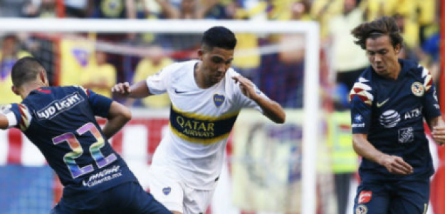 """""""Boca va con todo a por el delantero de América. Foto: ATR"""""""