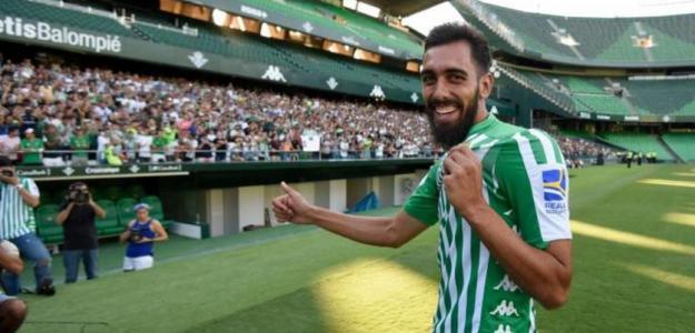 Borja Iglesias, la sorpresa negativa del Betis / Cuatro.com