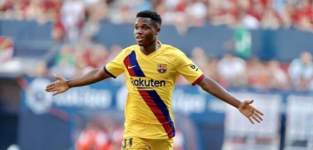 El United insiste en pagar 150 millones por Ansu Fati