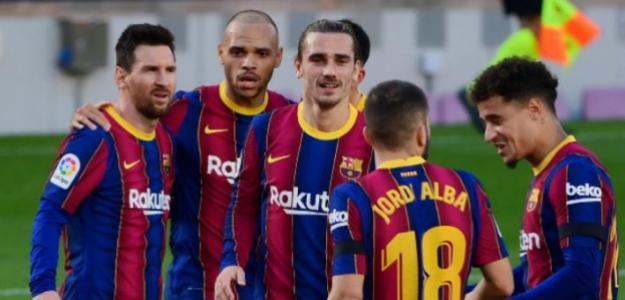 Análisis | Martin Braithwaite hace mejores al Barça y a Antoine Griezmann | FOTO: FC BARCELONA