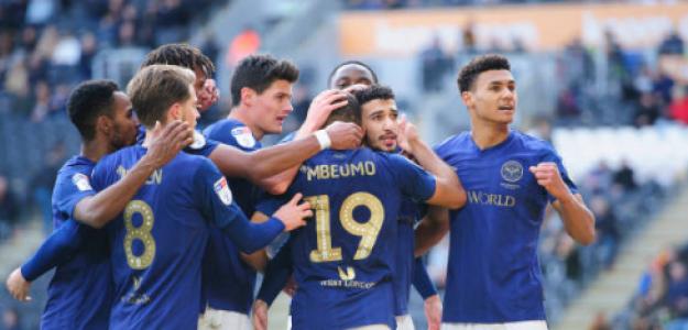 """""""El tridente del Brentford que apunta a la Premier League. Foto: Getty Images"""""""