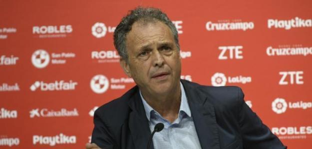 Joaquín Caparrós, en rueda de prensa / twitter.