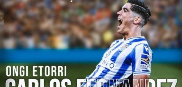 OFICIAL: Carlos Fernández, a la Real Sociedad. Foto: rtve.es