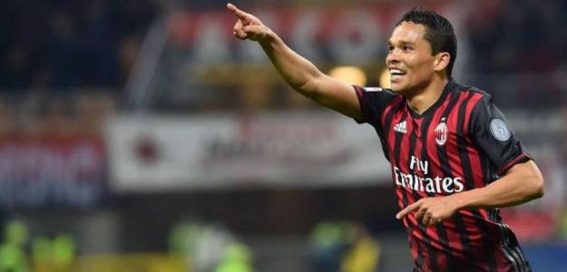 El delantero del Milán Carlos Bacca / Antena2.com.co