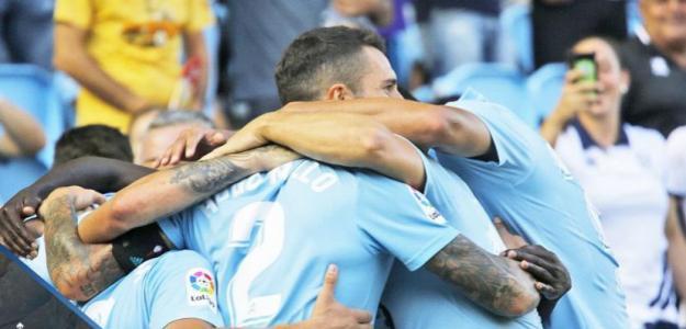 Celta de Vigo, celebrando un gol / twitter