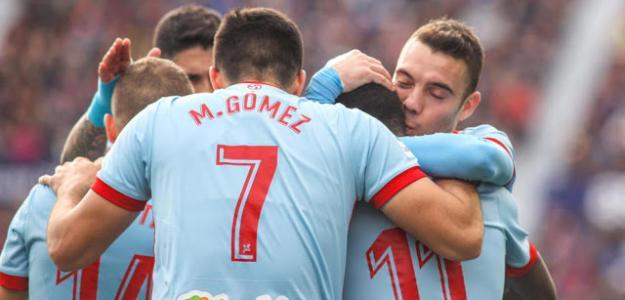 Jugadores del Celta celebrando un gol / moiceleste.com