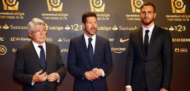 Enrique Cerezo y Diego Simeone en LaLiga / Atlético de Madrid