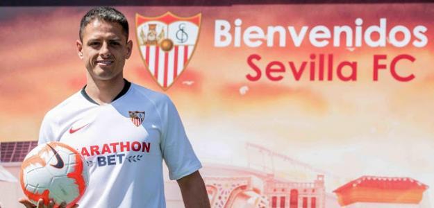 El gran elogio de Chicharito tras llegar al Sevilla