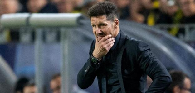 Simeone durante un partido. / mundod.lavoz.com.ar