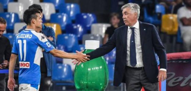"""""""El Everton contempla el fichaje del Chucky Lozano. Foto: Getty Images"""""""