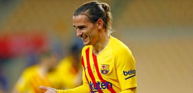 Compás de espera con Antoine Griezmann. Foto: FC Barcelona