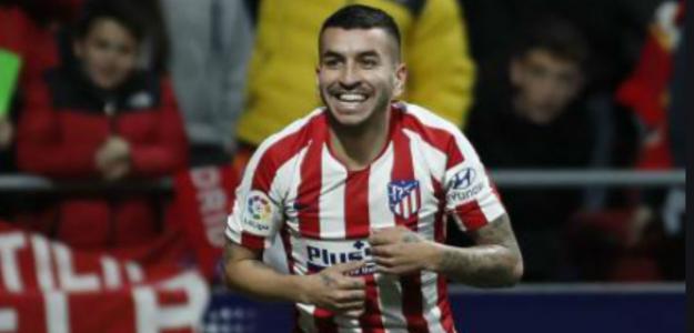 """La mejor noticia del Atleti se llama Ángel Correa """"Foto: Marca"""""""