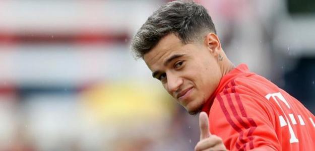 Coutinho con el Bayern de Múnich. / depor.com