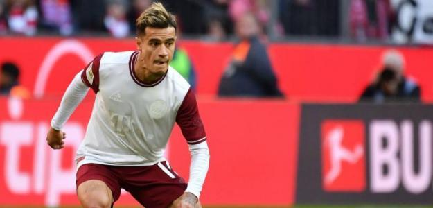 ¿En que equipo encajaría mejor Philippe Coutinho?   FOTO: BAYERN MÚNICH