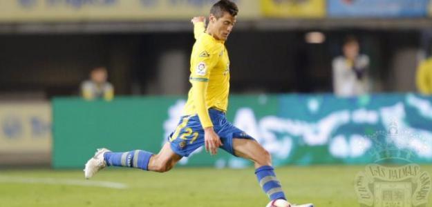 Mantovani, durante la presente temporada (UD Las Palmas)