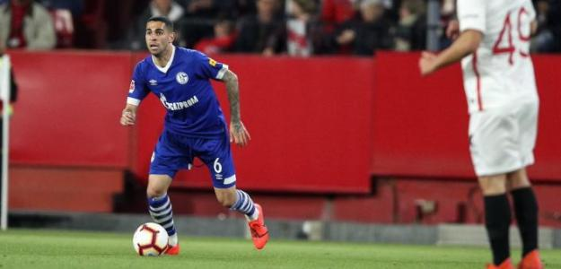 Omar Mascarell, con el Schalke (Twitter oficial)
