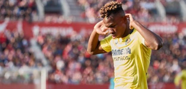 Samuel Chukwueze celebra su gol de hoy (Villarreal CF)