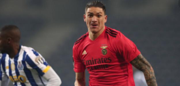 "Darwin Núñez se acerca a un posible traspaso a la Premier League ""Foto: Transfermarkt"""