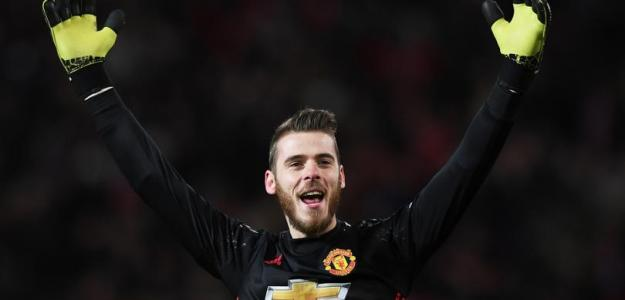 David De Gea, con el United / twitter