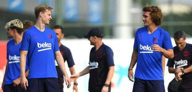 Griezmann y De Jong decepcionan en la noche clave del Barcelona
