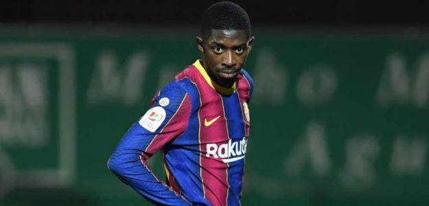 Dembélé y su incierto futuro en el Barça. Foto: onefootball.com