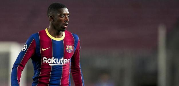 El Barça prioriza la renovación de Dembélé ante el interés del United. Foto: eurosport.fr