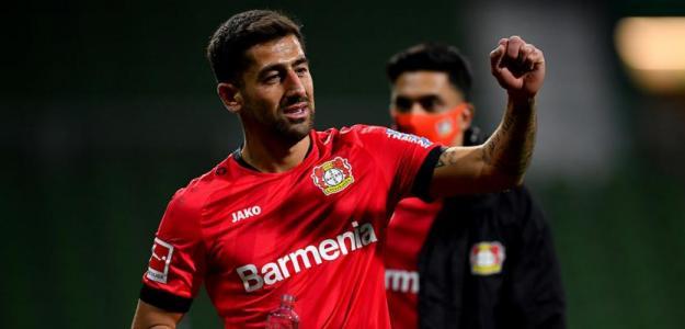 Kerem Demirbay, el mediocampista que define al Leverkusen de Bosz | FOTO: LEVERKUSEN