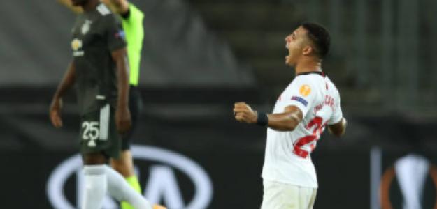 """""""El Sevilla quiere blindar a Diego Carlos./ Foto: Getty Images"""""""