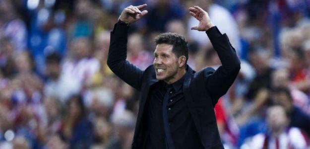 Diego Simeone entrenador del Atlético. Foto: BeinSports