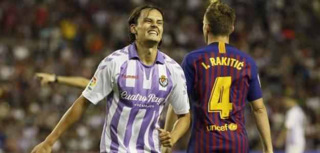 Unal y Rakitic (Real Valladolid)