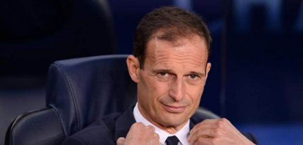 Allegri, en el banquillo de la Juventus / twitter