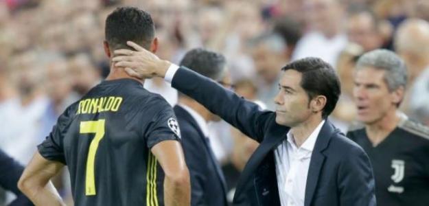 Ronaldo, tras su expulsión ante el Valencia / twitter