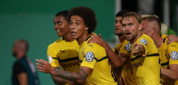 Dortmund, celebrando un gol / twitter