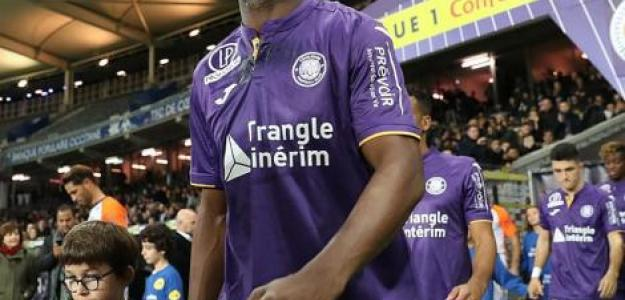 Mbia, con el Toulouse (Twitter oficial)