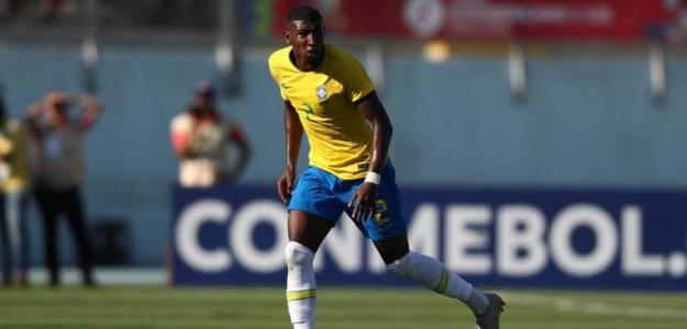 Emerson, con Brasil (FC Barcelona)