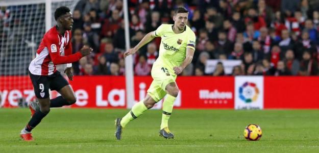 Lenglet, esta noche en San Mamés (FC Barcelona)