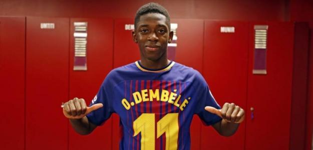 El FC Barcelona no quiere vender a Ousmane Dembélé / FCBarcelona.es