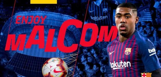 El PSG intentó fichar a Malcom / FCBarcelona.es