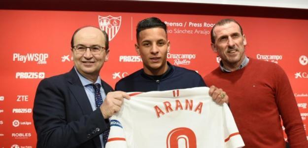 El Sevilla encuentra equipo para Arana / Sevillafc.es