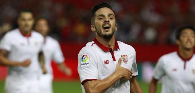 El PSG complica la continuidad de Pablo Sarabia en el Sevilla FC / SFC.