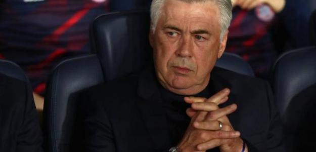 Ancelotti está en su primer curso con el Napoli / El País