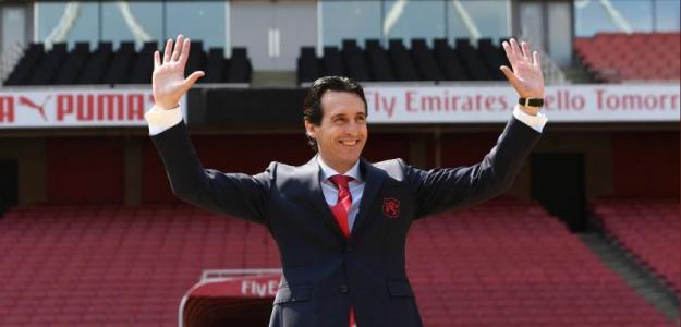 Unai Emery, en su presentación con el Arsenal / twitter