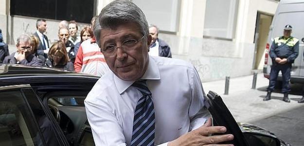 Enrique Cerezo, presidente del Atlético de Madrid. Foto: ABC.es