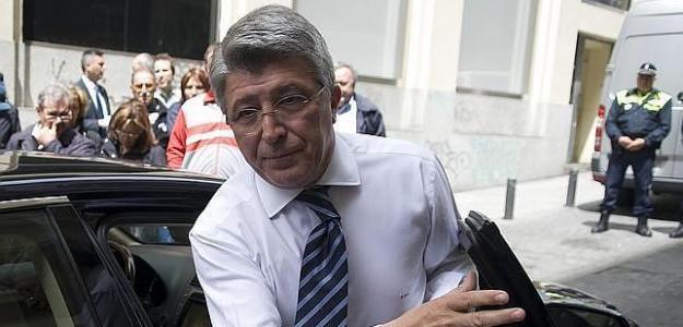 Enrique Cerezo presidente del Atlético. Foto: ABC.es