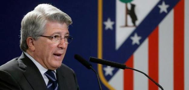 Enrique Cerezo, presidente del Atlético de Madrid. Foto: AtleticodeMadrid.com