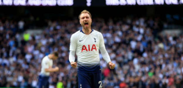 """Mourinho confirma la salida de Eriksen al Inter. Foto: Getty Images"""